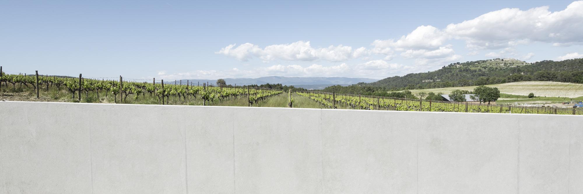 Photography Pavilion entry | RPBW | Chateau La Coste