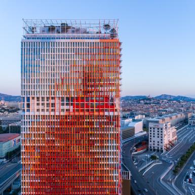 Tour La Marseillaise à Marseille