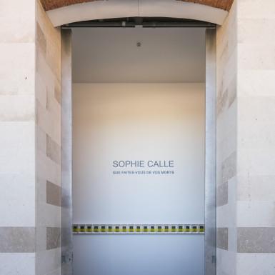 Sophie Calle au Chateau La Coste